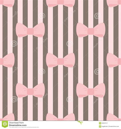pattern brown pink tile vector pattern with pink bows on brown and white