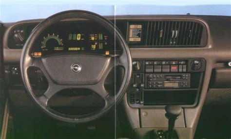 opel senator b interior die untere abbildung zeigt den unter dem radio eingebauten