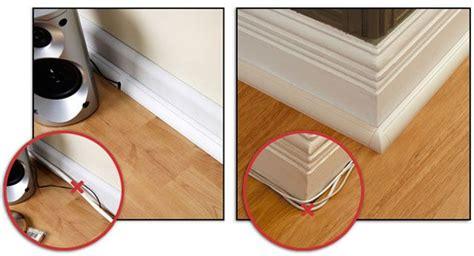 floor trim  hides cables home hide cables