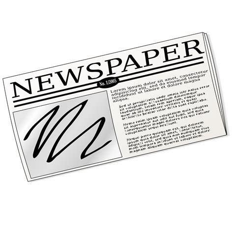 Newspaper Clipart 2366 Free Clipart Images Clipartwork Newspaper Clipart Clip Of Newspaper Clipart 2370 Clipartwork
