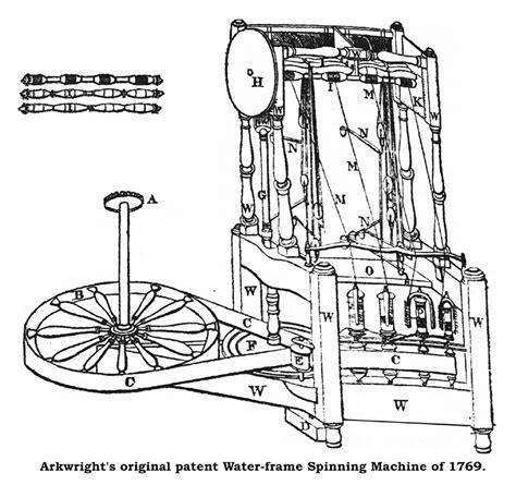 water frame diagram esther m zimmer lederberg the industrial revolution in
