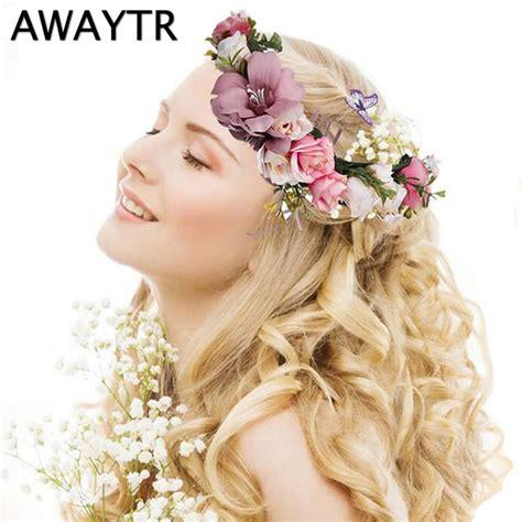 buy diadem awaytr flower crown wedding