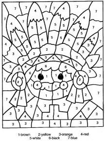 printable color by number free printable color by number coloring pages best