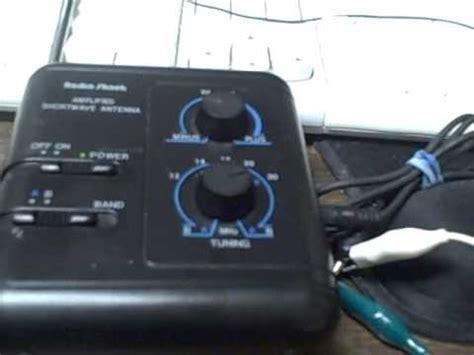 radio shack lified shortwave antenna