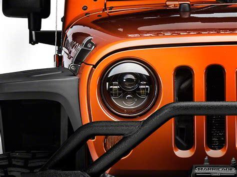 stock jeep headlights raxiom wrangler led headlights j103746 07 17 wrangler jk