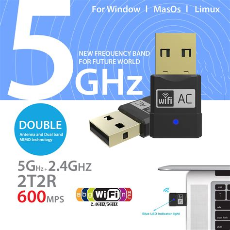 Daftar Usb Lan Card usb wifi wireless dongle 600m network card 802 11 hi speed