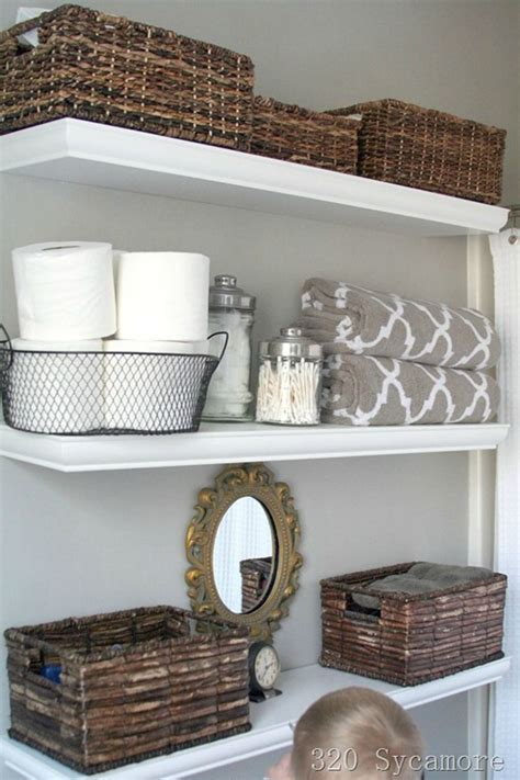 ideas for bathroom shelves 30 best bathroom storage ideas and designs for 2017