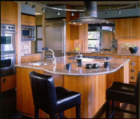Kitchen Island With Sink And Stove Top Kitchen Island Design Ideas With Seating Smart Tables Carts Lighting