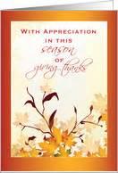 thanksgiving cards for customers from greeting card universe