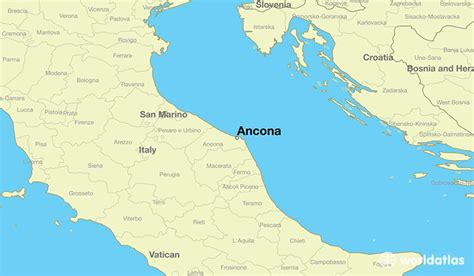 map of ancona italy where is ancona italy ancona marche map worldatlas