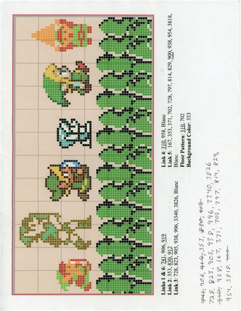 zelda cross stitch pattern 17 best images about perler beads the legend of zelda on