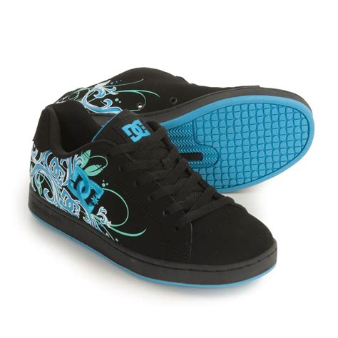 womens dc skate shoes dc shoes pixie scroll skate shoes for 3113d save 33
