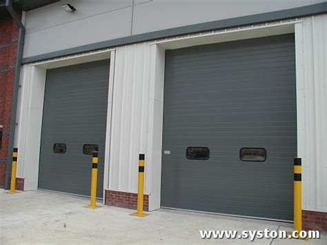 Insulated Sectional Overhead Doors by Syston Doors Sd600 Insulated Sectional Overhead Doors