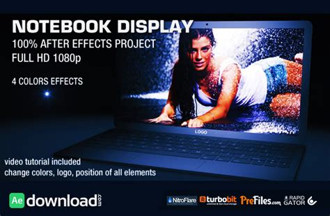 notebook display videohive project free download