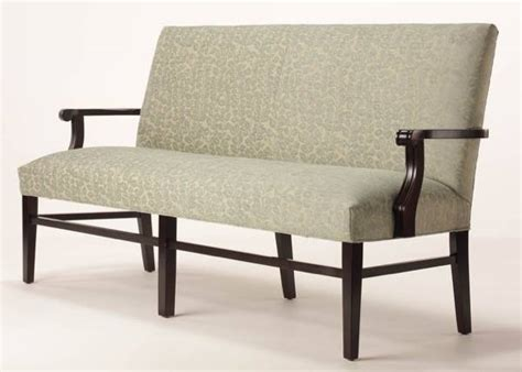 Adams Bench Oversized With Arms Customize Fabric Finish