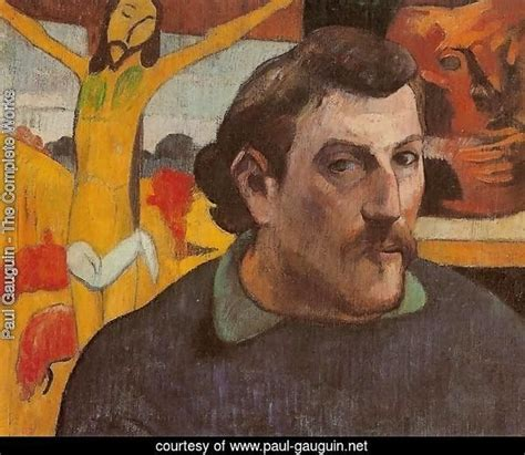 paul gauguin a complete 0340552220 paul gauguin the complete works self portrait with yellow christ paul gauguin net