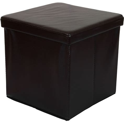 cube bench storage foldable stool seat cube storage box stool chest stand