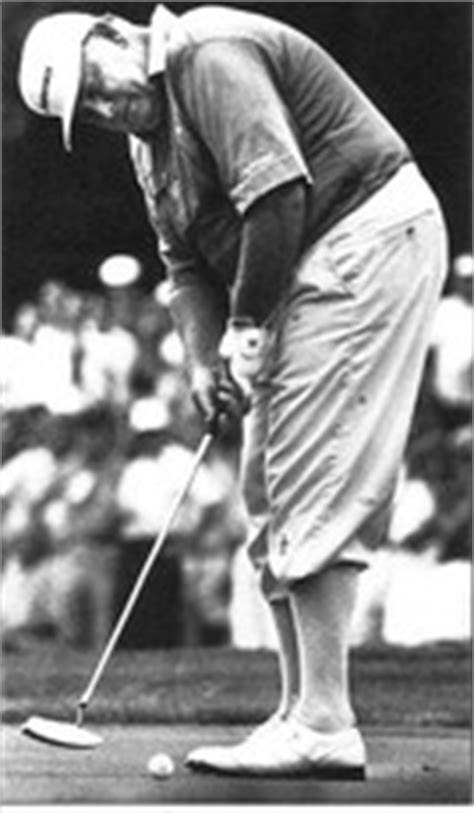 billy casper golf swing setup at address significant putting changes for better
