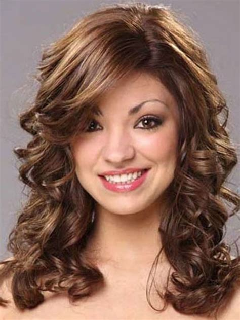 hair cuts for medium length permed hair with bangs spiral perms for short hair hairstyles medium length
