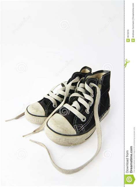 A Pair Of Childrens a pair of children s shoe royalty free stock image image