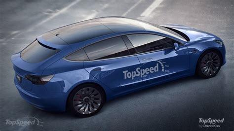 Tesla Top Model Tesla Model 3 Hatchback Rendered