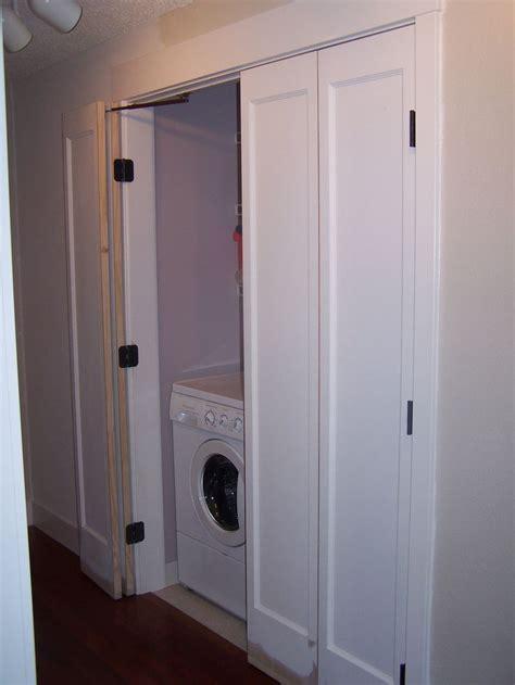 Doors For Laundry Closet The 25 Best Bifold Door Hardware Ideas On Folding Door Hardware Diy Folding Doors