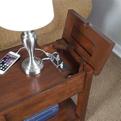 coffee table with plugs device charging end table viral gadgets