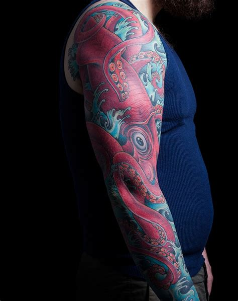 squid sleeve mark thompson tattoo