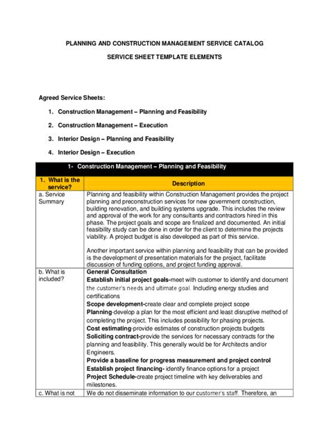 Construction Management Template 2 Free Templates In Pdf Word Excel Download Construction Management Document Templates