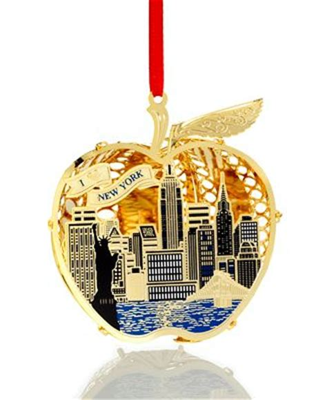 closeout chemart new york city skyline christmas ornament
