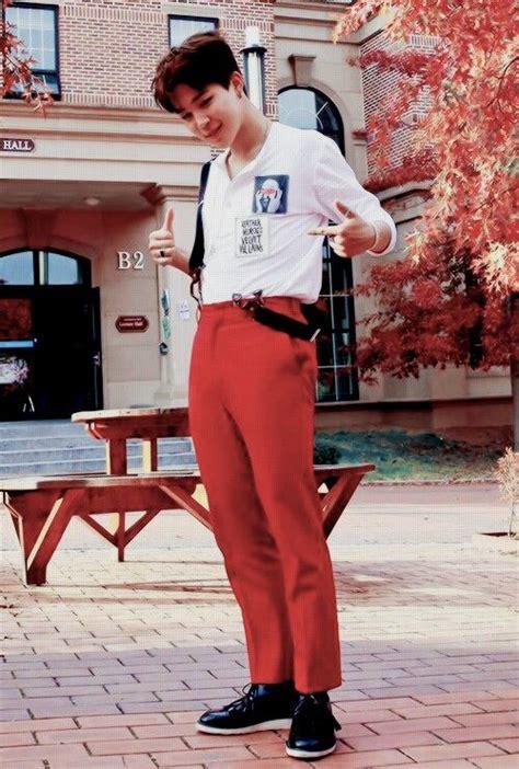 Red Pants Meme - bts jimin bts pinterest parks war and pants