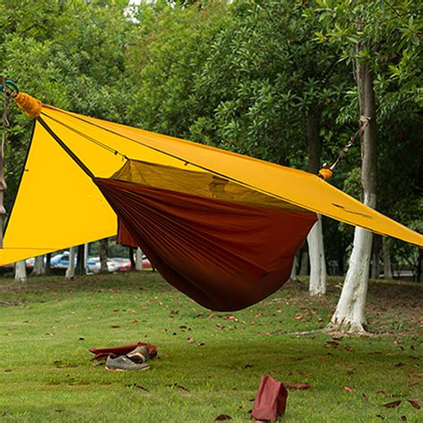 hanging tent new ultralight hanging outdoor portable tree tent cing hiking hammock canopy ebay