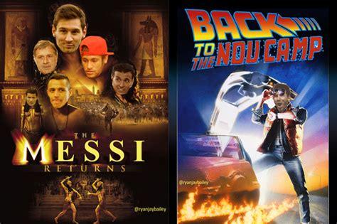 film lionel messi movie posters announcing lionel messi s return to