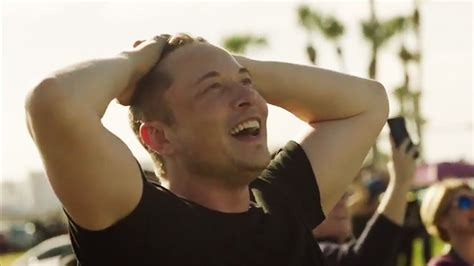 elon musk youtube spacex elon musk extremely emotional reaction to falcon heavy