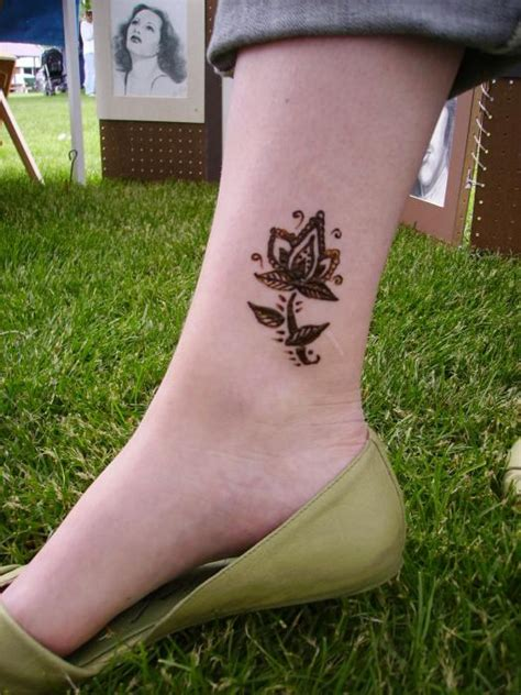 tattoo henna leg henna tattoos