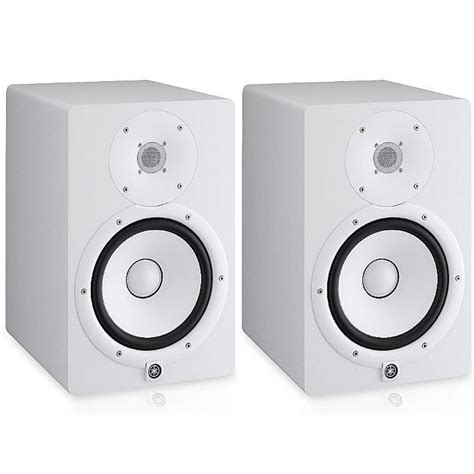 Speaker Yamaha Hs8 yamaha hs8 active studio monitors white pair