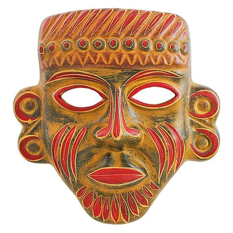 aztec mask template aztec masks and their meanings pictures to pin on