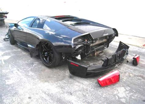 Damaged Lamborghini For Sale Wrecked Damaged Salvage Rebuildable Cars For Sale