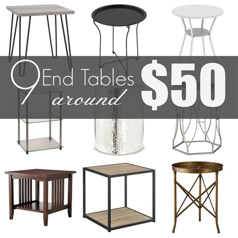 side tables under 50 tips on how to style an end table