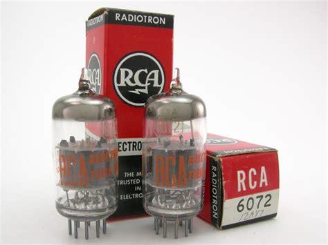 6146 Match Pair Rca rca 12ay7 6072 matched pair