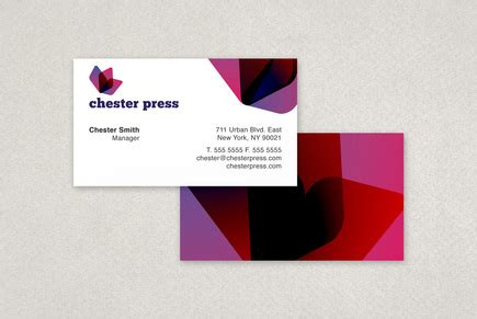 business card template for printing press chester press printing business card template inkd