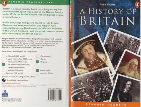penguin readers level 4 1 level 3 a history of britain penguin readers