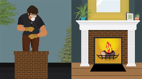 How To Clean Fireplace Chimney Yourself by How To Clean Your Chimney Fix