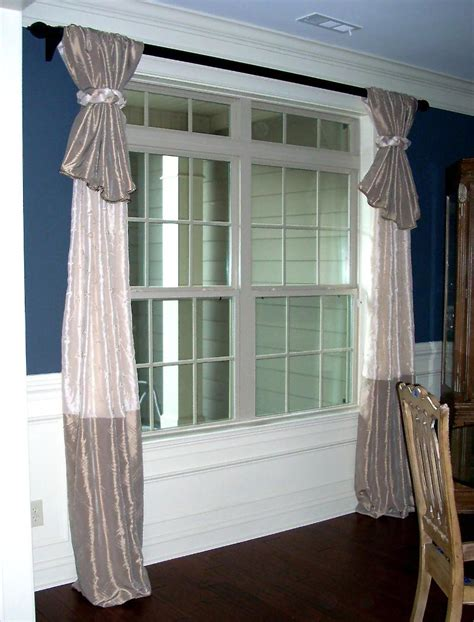 Curtain Length For 8 Foot Ceilings How To Hang Drapes