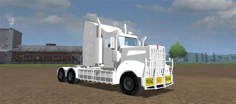 kenworth trucks bayswater kenworth t908 custom white v 1 0 ls 2013 mods