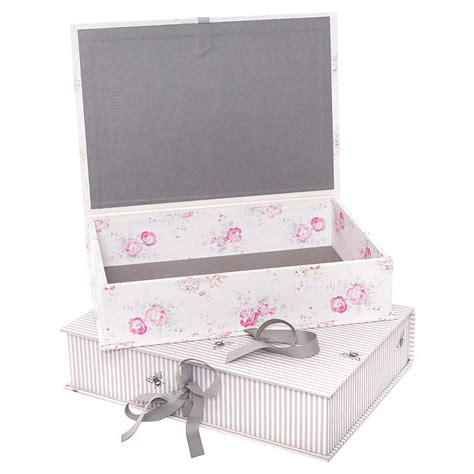 Wedding Keepsake Box Not On The High by Keepsake Box File By Hello Pearl Notonthehighstreet