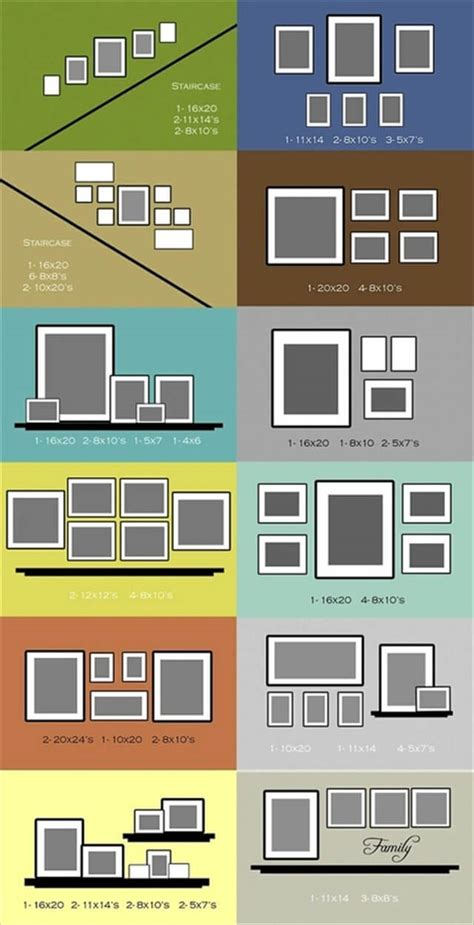 video wall layout top ideas to create a diy photo gallery wall layouts diy