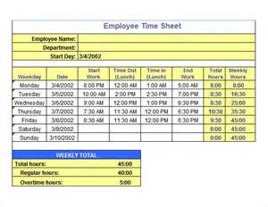 hourly timesheet template excel time sheet template 10 free sles exles format