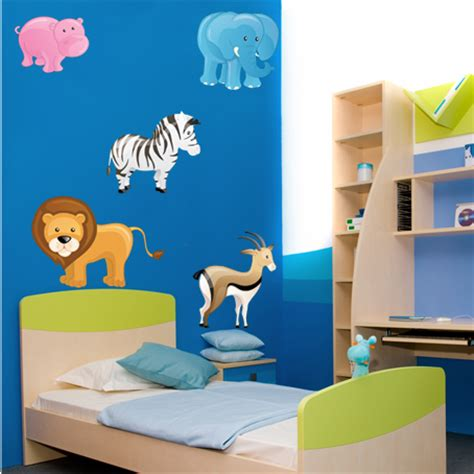 Wandtattoo Kinderzimmer Tiere Set by Wandtattoos Folies Wandsticker Tiere Set
