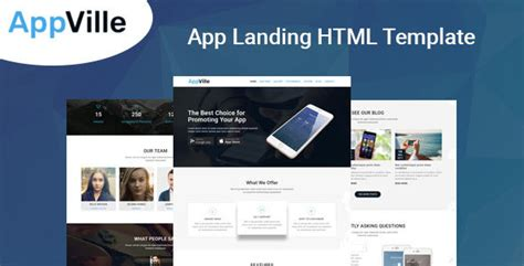 nulled template appville app landing page nulled